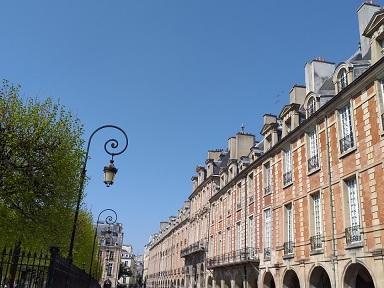 La place des Vosges - Blogue La France Audacieuse