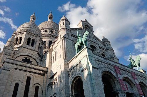 Basilique du sacré coeur - Montmartre - La France Audacieuse