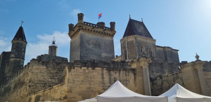 Le duché d'Uzès - France