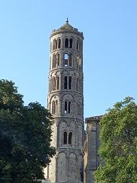 Tour cathédrale - Uzès - France