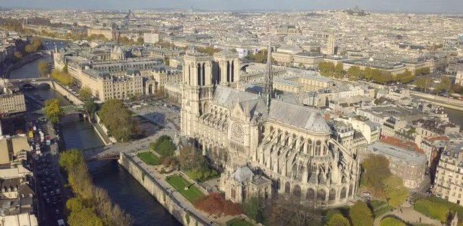 Cathédrale Notre-Dame à Paris